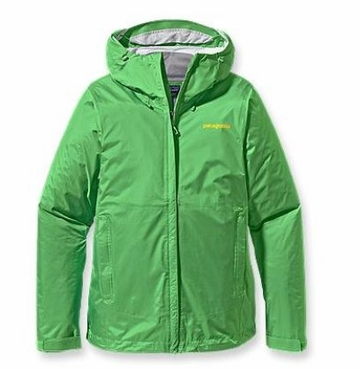 Patagonia Womens Torrentshell Jacket Aloe Green (Autumn 2013)