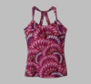 Prana Womens Quinn Top Berry Flora (Spring 2013)