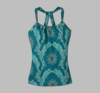 Prana Womens Quinn Top Capri Blue Scallop (Spring 2013)