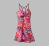 Prana Womens Sonja Dress 'Short' Length Berry Garden (Spring 2013)