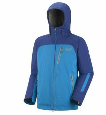 Mountain Hardwear Mens Gravitor Jacket Blue Chip/ Blue Horizon (Close Out)