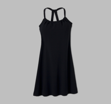 Prana Womens Quinn Dress 'Short' Length Black (Spring 2013)