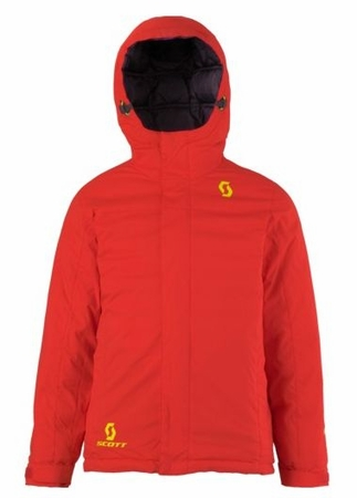 Scott Kids Icecap Jacket Fiery Red/ Velvet