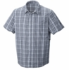 Mountain Hardwear Mens Fallon S/S Shirt Grey Ice (Spring 2013)
