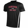 Denison Team Zone IV SS Tee Black w/ White Stripe