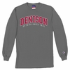 Denison Basic Long Sleeve Tee Charcoal