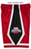 Denison Mens Break Away Short Scarlet/ Black