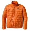 Patagonia Mens Nano Puff Pullover Turmeric Orange Small (Spring 2013)