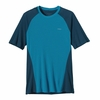 Patagonia Mens Capilene 2 Lightweight T-Shirt Grecian Blue (Close Out)