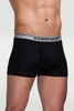 Icebreaker Mens Bodyfit 150 Boxer Briefs with Fly Black/ Mineral