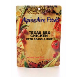 Alpine Aire Texas BBQ Chicken with Beans Serves 2