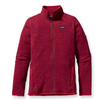 Patagonia Womens Better Sweater Jacket  Maraschino (Autumn 2012)