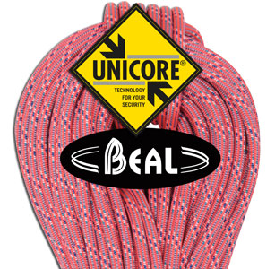 Beal Ice Line 8.1MM X 60M Salmon Unicore