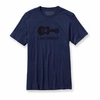 Patagonia Mens Live Simply Guitar T-Shirt Classic Navy (Close Out)