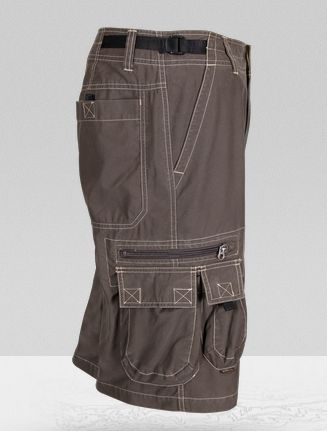 Kuhl Mens Z-Cargo Shorts Brown