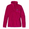 Patagonia Womens Re-Tool Snap-T Pullover Jeweled Berry: Jeweled Berry X-Dye (Past Season)