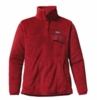 Patagonia Womens Re-Tool Snap-T Pullover Red Delicious: Wax Red X-Dye (Autumn 2013)