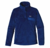 Patagonia Womens Re-Tool Snap-T Pullover Viking Blue: Channel Blue X-Dye (Autumn 2013)