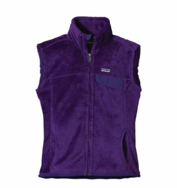 Patagonia Womens Re-Tool Vest Purple: Blue Butterfly X-Dye (Autumn 2013)