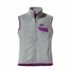 Patagonia Womens Re-Tool Vest Tailored Grey: Nickel X-Dye with Ikat Purple (Autumn 2013)