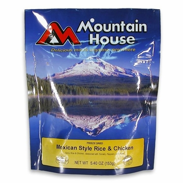 Mountain House Mexican Style Chicken and Rice- Serves 2