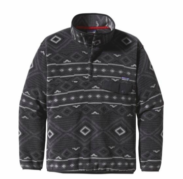Patagonia Mens Synchilla Snap-T Pullover Eyota: Forge Grey (Autumn 2013)