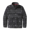 Patagonia Mens Synchilla Snap-T Pullover Eyota: Forge Grey (Past Season)