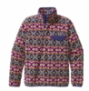 Patagonia Womens Lightweight Synchilla Snap-T Pullover Aberdeen: Blue Butterfly (Autumn 2013)