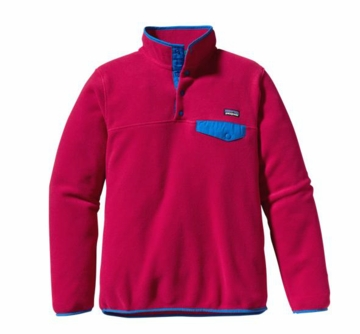 Patagonia Womens Lightweight Synchilla Snap-T Pullover Jeweled Berry (Past Season)