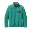 Patagonia Womens Lightweight Synchilla Snap-T Pullover Teal Green (Autumn 2013)