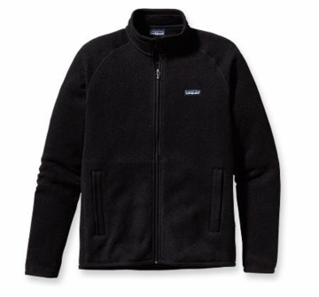 Patagonia Mens Better Sweater Jacket Black (Spring 2014)