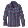 Patagonia Womens Long-Sleeved Fjord Flannel Shirt Roadie: Ikat Purple (Autumn 2013)