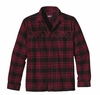 Patagonia Mens Long-Sleeved Fjord Flannel Shirt El Capitan: Wax Red (Autumn 2013)