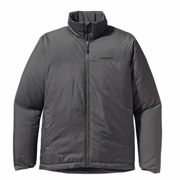 Patagonia Mens Micro Puff Jacket Forge Grey with Black (Autumn 2013)