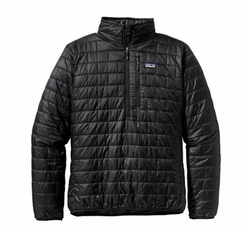 Patagonia Mens Nano Puff Pullover Black (Autumn 2013)