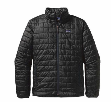 Patagonia Mens Nano Puff Jacket Black (Autumn 2013)
