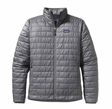 Patagonia Mens Nano Puff Jacket Nickel (Autumn 2013)