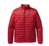 Patagonia Mens Nano Puff Jacket Red Delicious  (Past Season)