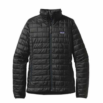 Patagonia Womens Nano Puff Jacket Black (Spring 2014)