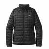 Patagonia Womens Nano Puff Jacket Black (Autumn 2013)