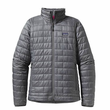 Patagonia Womens Nano Puff Jacket Nickel (Autumn 2013)