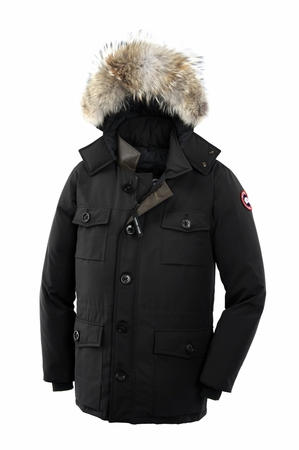Canada Goose Mens Banff Parka Black (Autumn 2013)