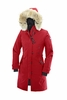 Canada Goose Womens Kensington Parka Red (Autumn 2013)