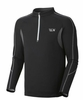 Mountain Hardwear Mens Elmoro Long Sleeve Zip Black (Autumn 2012)