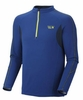 Mountain Hardwear Mens Elmoro Long Sleeve Zip Royal (Autumn 2012)