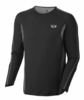 Mountain Hardwear Mens Elmoro Long Sleeve T Black (Autumn 2012)