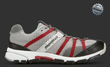 Montrail Mountain Mens Masochist Stainless/ Lava (Past Season)