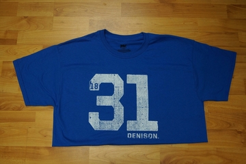 Denison 1831 Shirt Blue