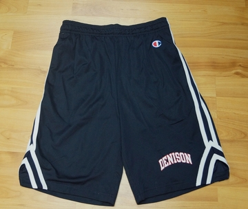 Denison Attack Short with Arched Logo Marine Navy