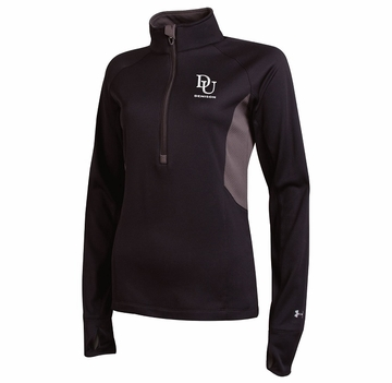 Denison Under Armour Cold Gear Compression 1/2 Zip Black